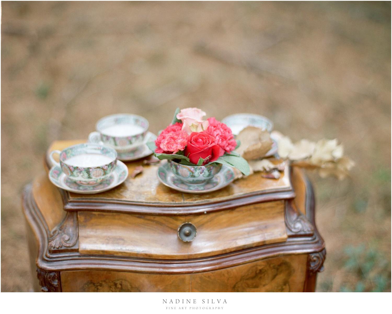 centrotavola matrimonio rose fiori vintage